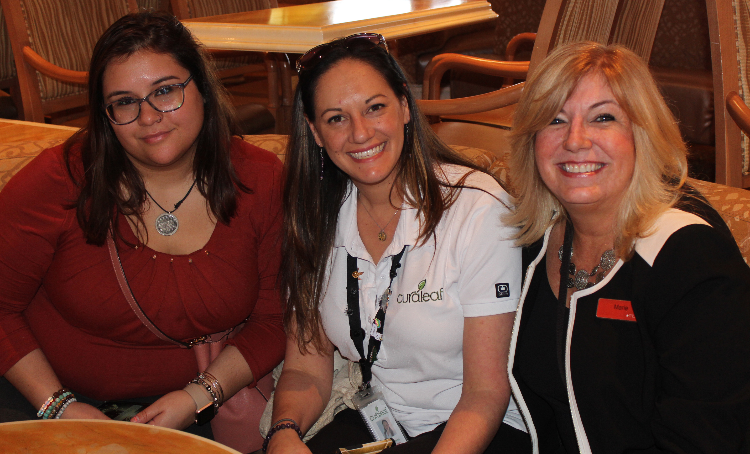 Doral Chamber of Commerce Carnival Cruise Luncheon 2019, Networking Event in Miami, Florida. DCC members enjoying the networking event at the Carnival Cruise Lounge.