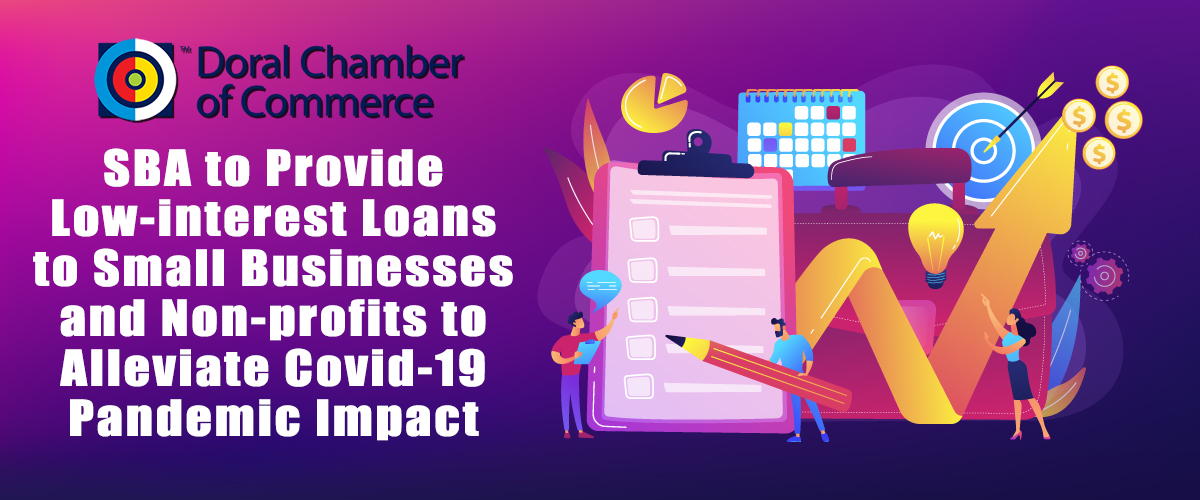 The U.S. Small Business Administration's Economic Injury Disaster Loans (EIDL) Information from Doral Chamber of Commerce.
