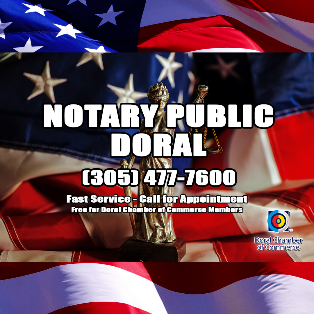 Notary Public Near Me in Doral. Notary Services. Notario Publico en Doral.