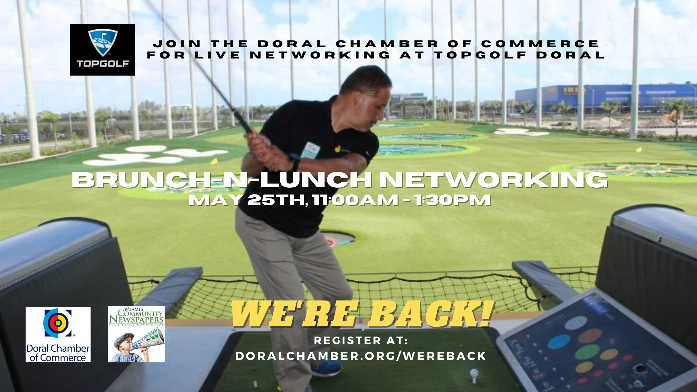 Topgolf Professional Brunch-n-Lunch Networking Event at Topgolf Doral