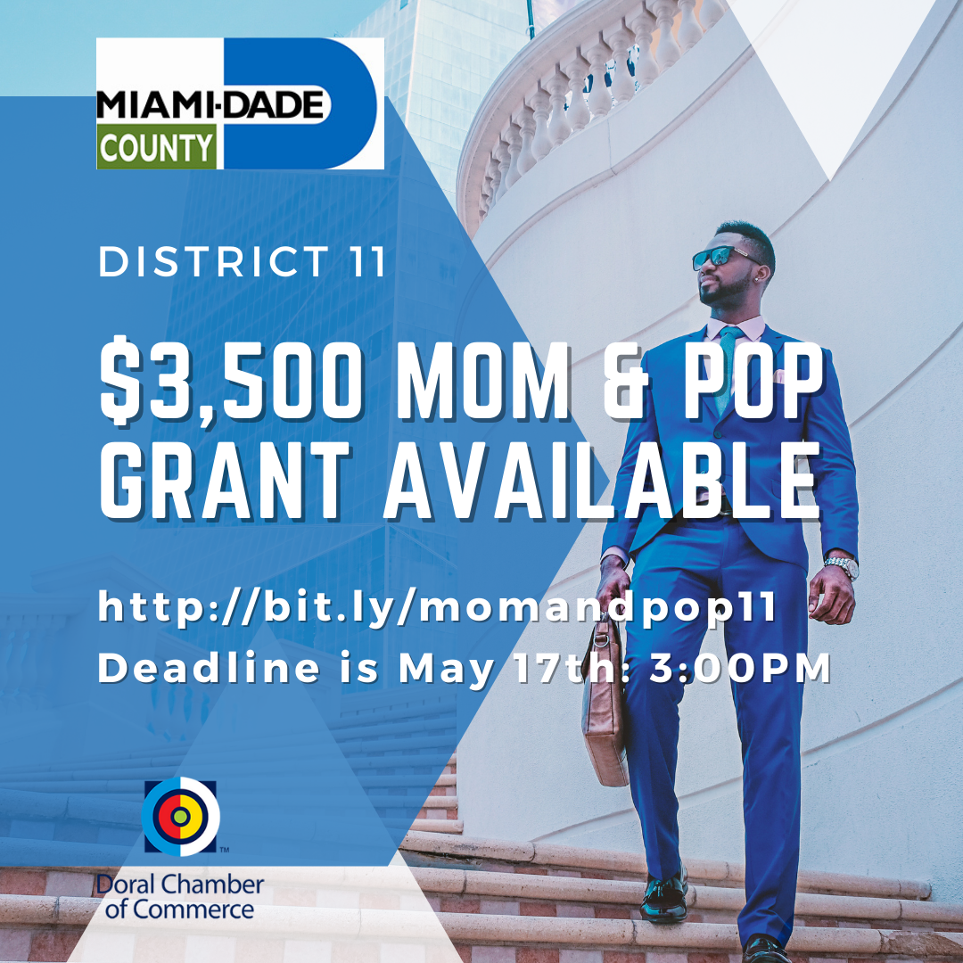 Mom and Pop Grant for Small Business. Up to $3500.