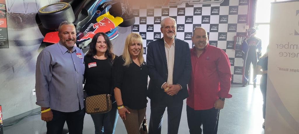 K1 Speed Networking Event Sponsored by Coral Gables Trust, Miami's Community Newspapers and K1 Speed. WIth Mayor Roberto Martell.