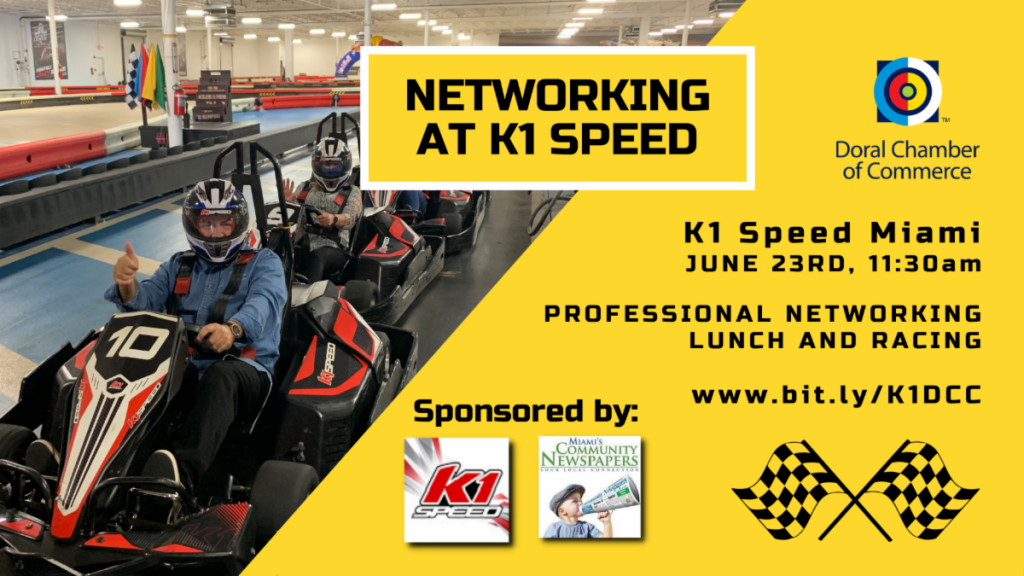 K1 Speed Miami Networking Event by Doral Chamber of Commerce