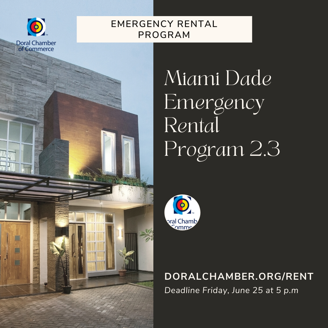 Miami Dade Emergency Rental Program - Doral Chamber of Commerce.