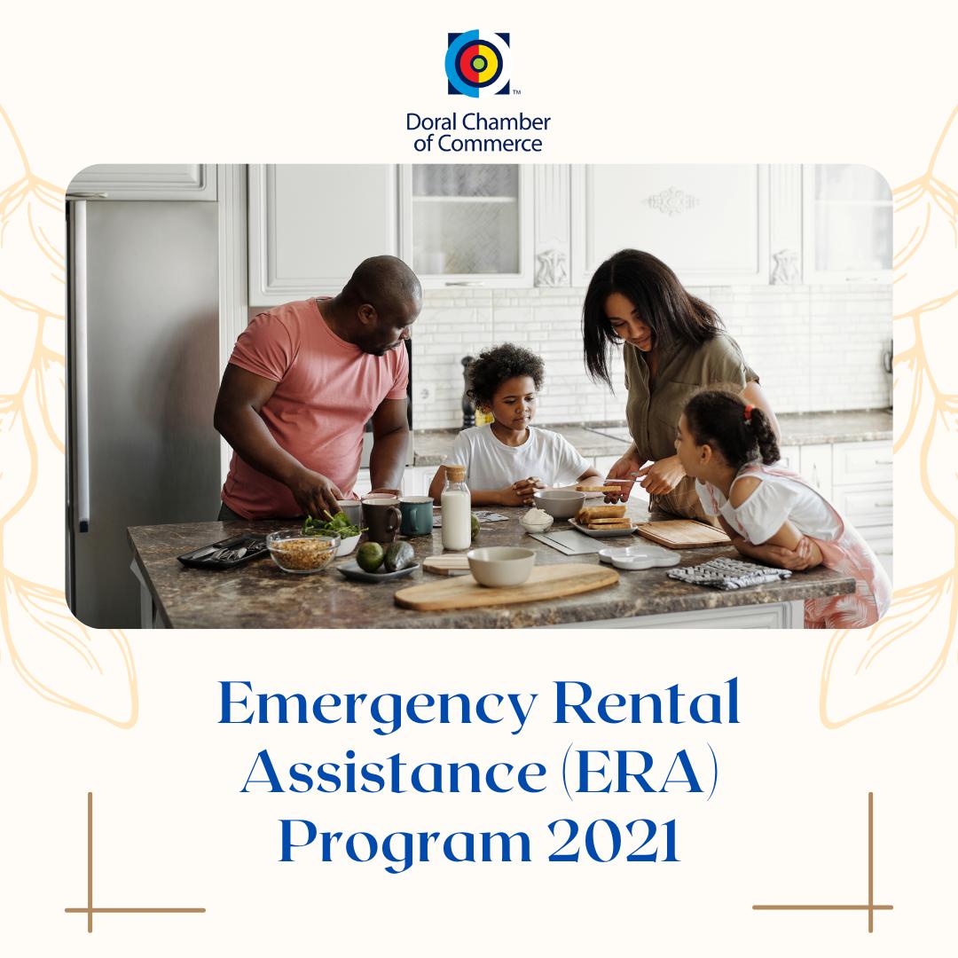 Emergency Rental Assistance (ERA) Program 2021. Doral Chamber.