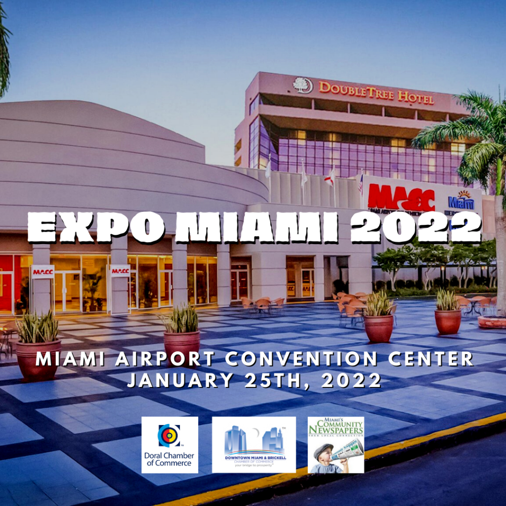 xpoMiami 2022 - Miami's Best Business Expo.