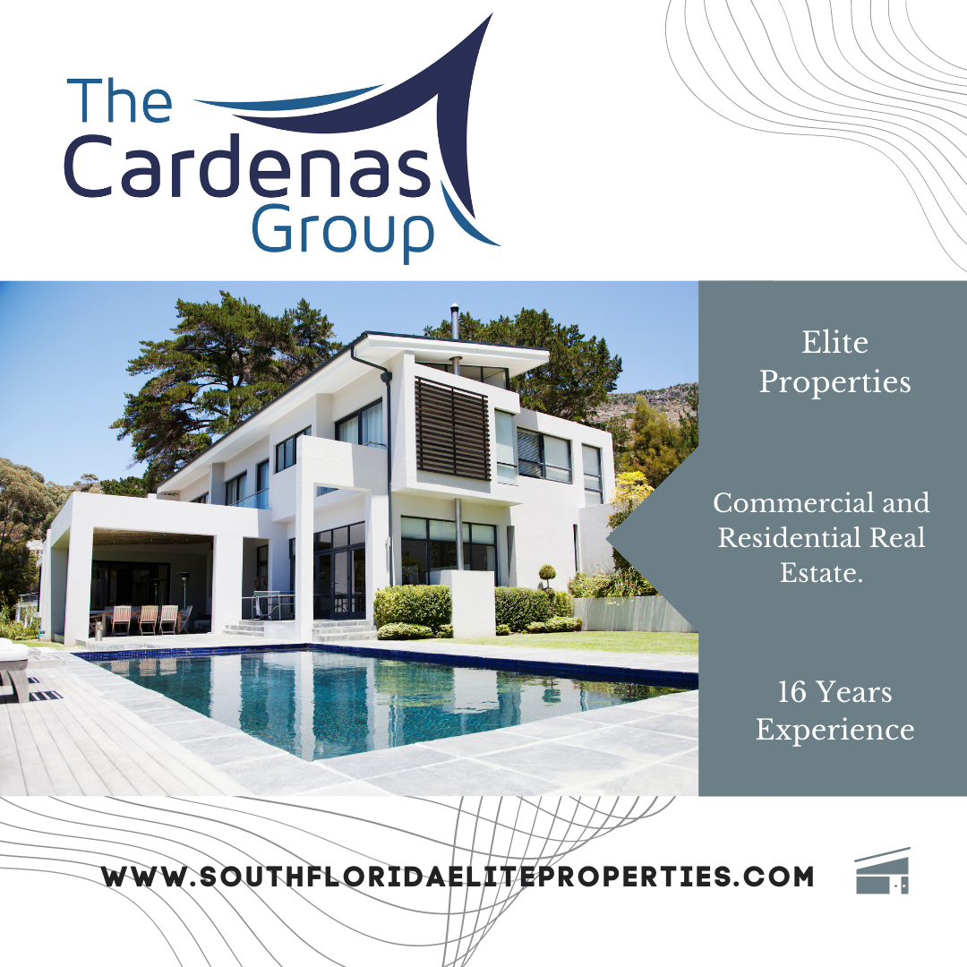 The Cardenas Group Realty. South Florida Elite Properties