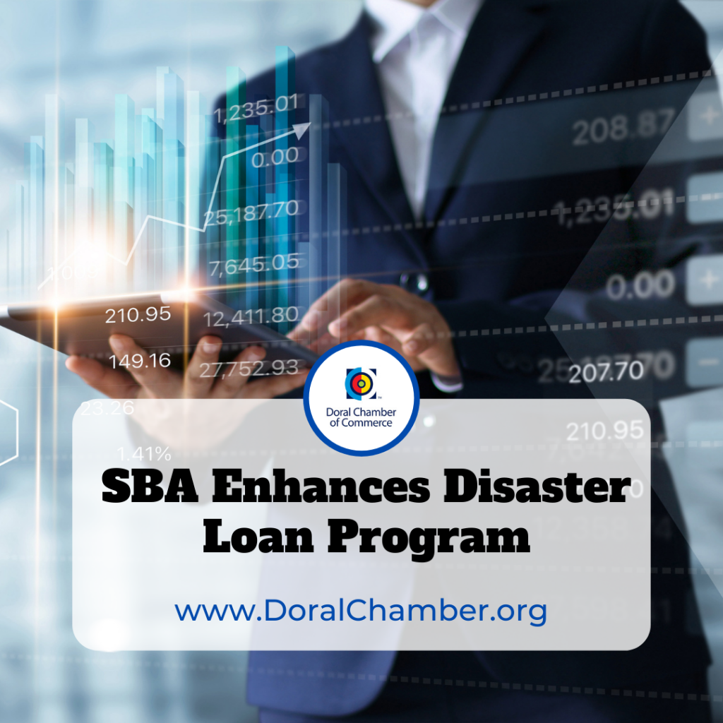 SBA Enhances Disaster Loan Program. SBA Administrator Guzman Enhances COVID Economic Injury Disaster Loan Program to Aid Small Businesses Facing Challenges from Delta Variant.
