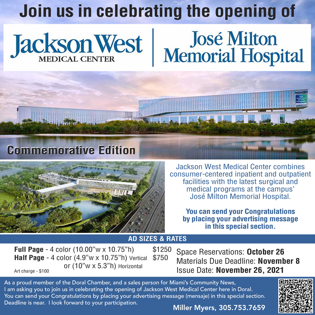 Jackson West Medical Center Grand Opening Special Section