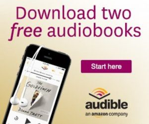 Audible Get Two Free Audiobooks.