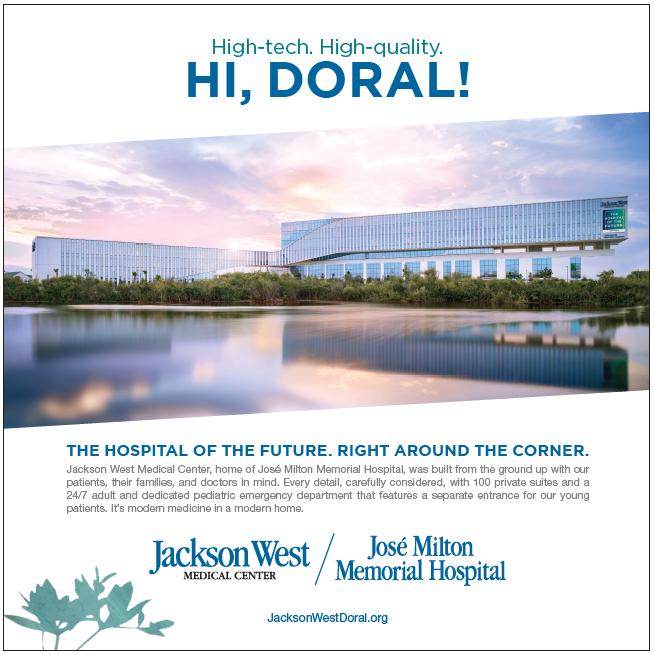 Jackson West Medical Center - Hi Doral! Doral Chamber of Commerce